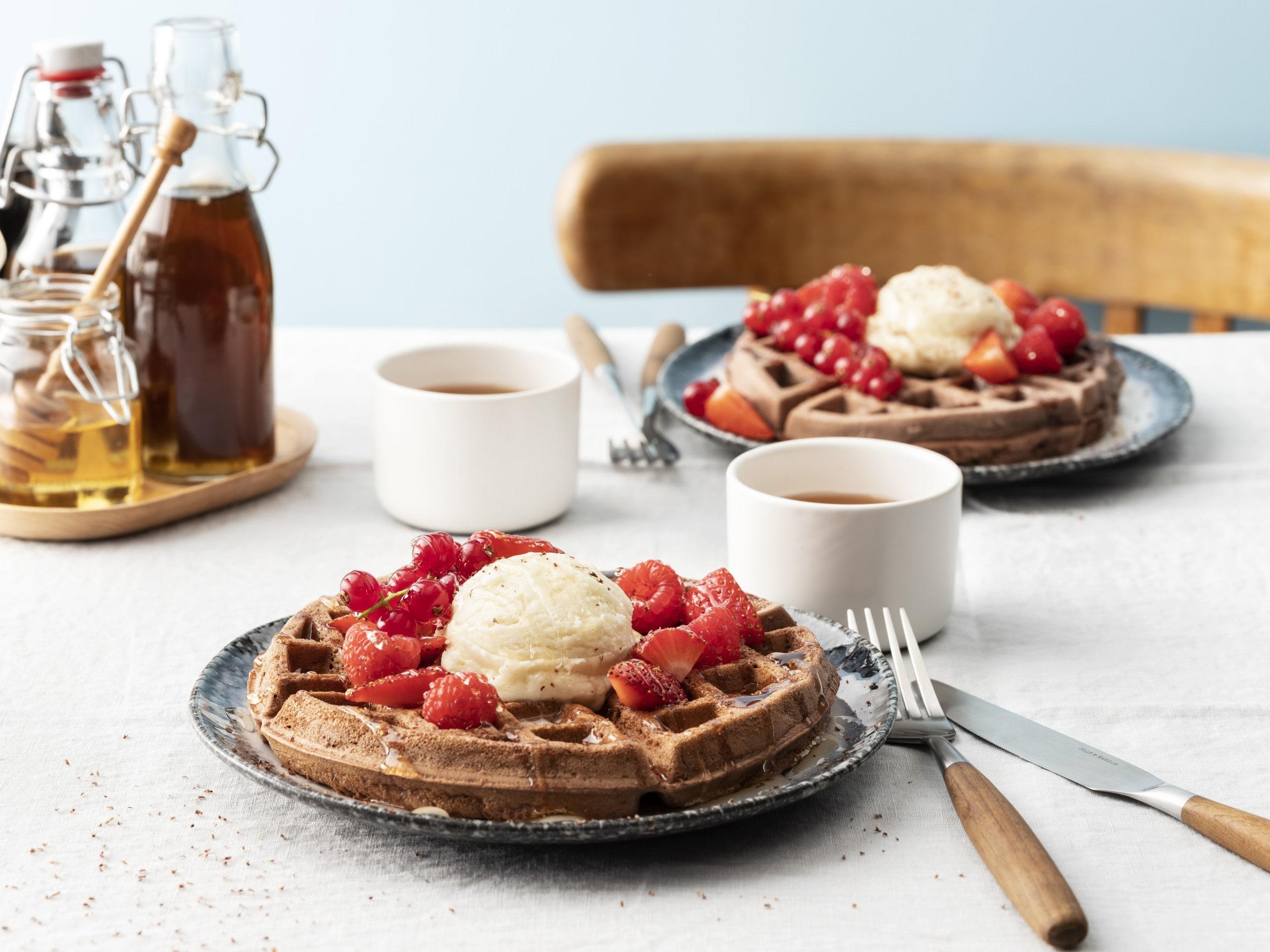 Fluffier-than-ever waffles thumbnail