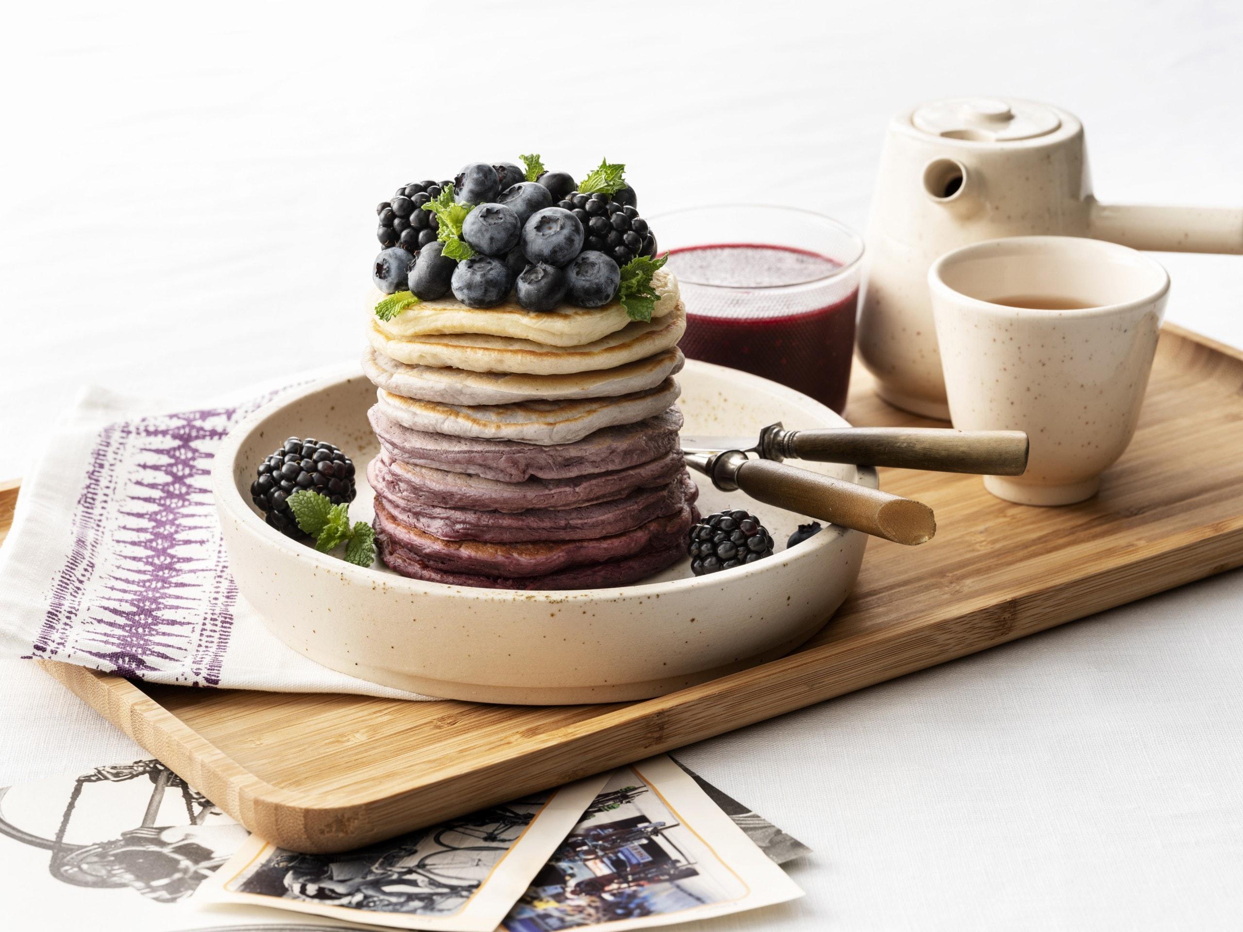Smoothie protein pancakes thumbnail
